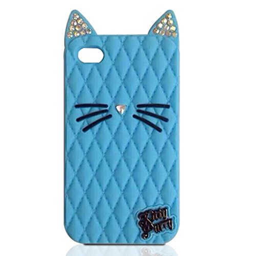 TISHAA Samsung Galaxy Note 5 Case, So Cute Lovely Bling Cat Protective Soft Skin Cover Silicone Rubber Cell Phone Case (Bling Cat - (Sick Animations Halloween)