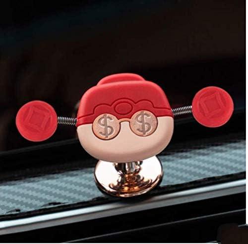 フォーチュンかわいい自動車電話ホルダーコンセントの車の車のカーナビゲーションのサポートユニバーサルバックルブラケットカーホルダー神