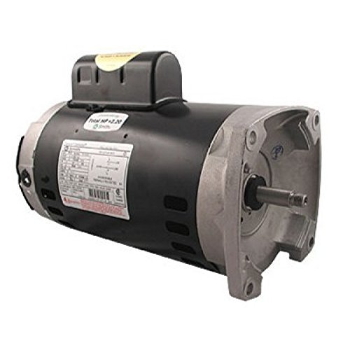 2 Motor Flange Square Speed - AO Smith/Century Electric Two-Speed, PSC High/Cap Start-Cap Run Low, 2.0 / .25HP, 3450/1725RPM, 230V, 11.0/1.8 AMPS, 1.3SERVICE FACTOR, Square FLANGE