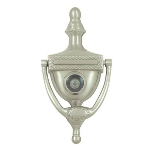 Deltana DKV6RU26D Victorian Rope Design and 3-7/8-Inch Center to Center Door Knocker Viewer by Deltana