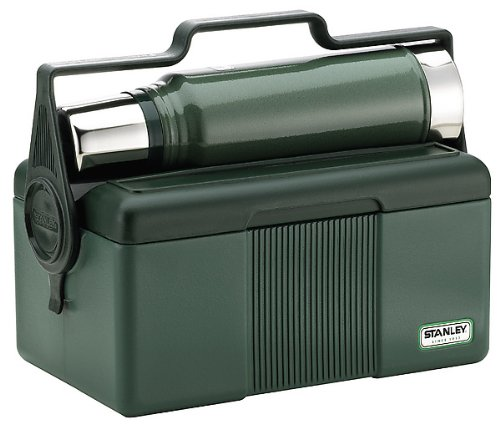 Stanley 6.6/ 1 Litre Classic Lunch Box and Classic Vacuum Bottle Combination Green Amazon.co.uk Kitchen u0026 Home  sc 1 st  Amazon UK & Stanley 6.6/ 1 Litre Classic Lunch Box and Classic Vacuum Bottle ... Aboutintivar.Com