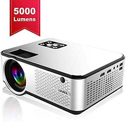 YABER Portable Projector with 5000 Lumen Full HD 1080P 200