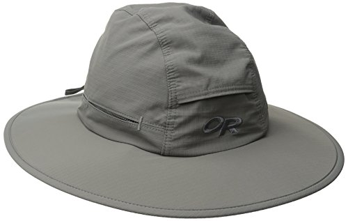 Outdoor Research Sombriolet Sun Hat, Pewter, Medium