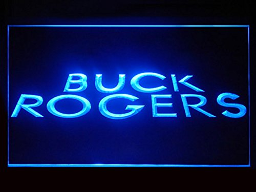 Buck Rogers Hub Bar Advertising LED Light Sign - Stores Corporate Rogers