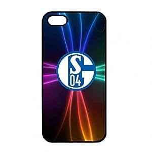 Classic Simple FC Schalke 04 Logo Phone Funda,IPhone5/IPhone5S Funda,FC Schalke 04 Cover Phone Funda