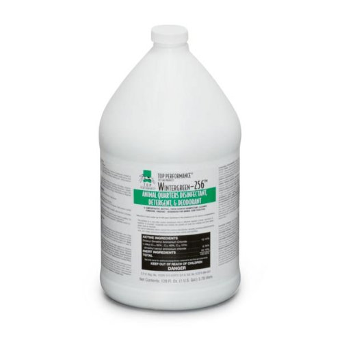 Top Performance Pet 256 Disinfectant and Deodorizer, Wintergreen, 1-Gallon, My Pet Supplies