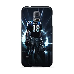 Snap-on Indianapolis Colts Player Manning S Case Cover Skin Compatible With Galaxy S5