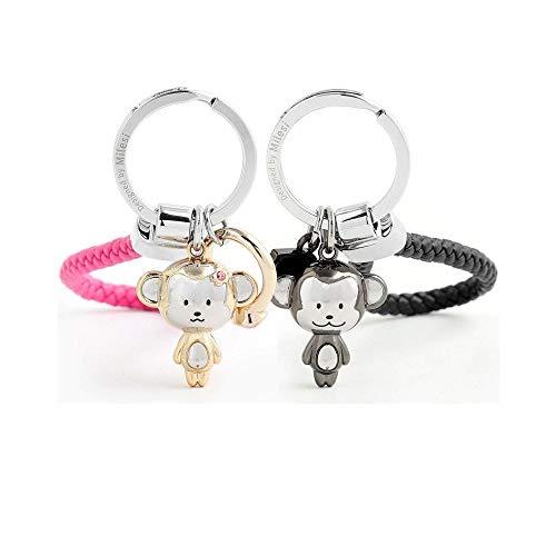 Valentine Key (MILESI Love Style Monkey Mascot Keychain Couples Valentine's Gift)