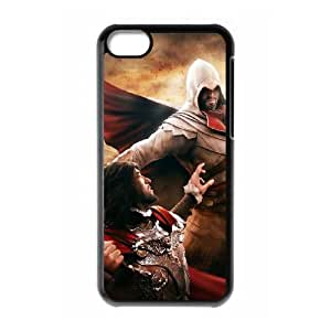 iPhone 5C Case Black Assassin'S Creed Cell Phone Case Cover X3E1OL