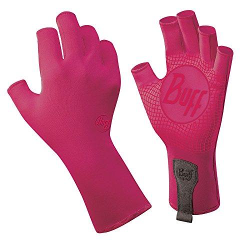 Buff sport series water 2 gloves fuchsia l xl fly fishing for Buff fishing gloves