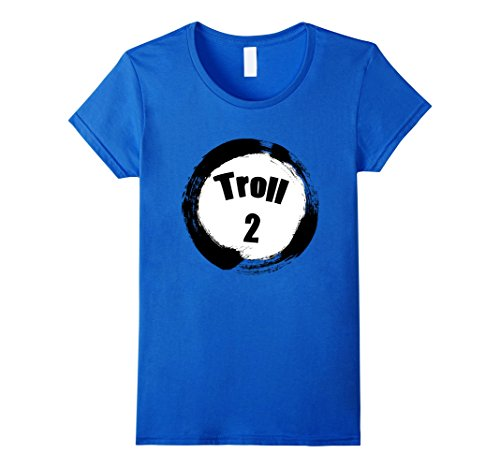 Womens Troll 2 Halloween Group Costumes Trick or Treat T-shirt Small Royal Blue - Diy Halloween Costumes For Two People