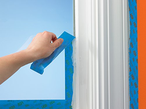 ScotchBlue 2093EL-24CVP Trim + BASEBOARDS Painters Tape.94 in x 60 yd, 3 Rolls, Blue by ScotchBlue (Image #2)