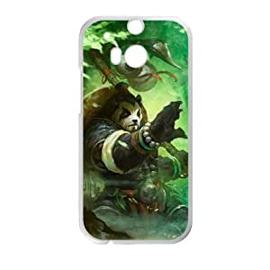 Chen Stormstout HTC One M8 Cell Phone Case White y2e18-392358
