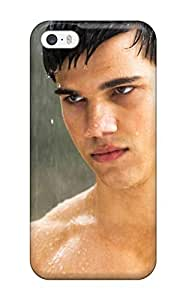 Fashionable VWNidjB1179JjEIX Iphone 5/5s YY-ONE For Men Male Celebrity Taylor Lautner Desktop Screensaver Twlight Star Protective Case