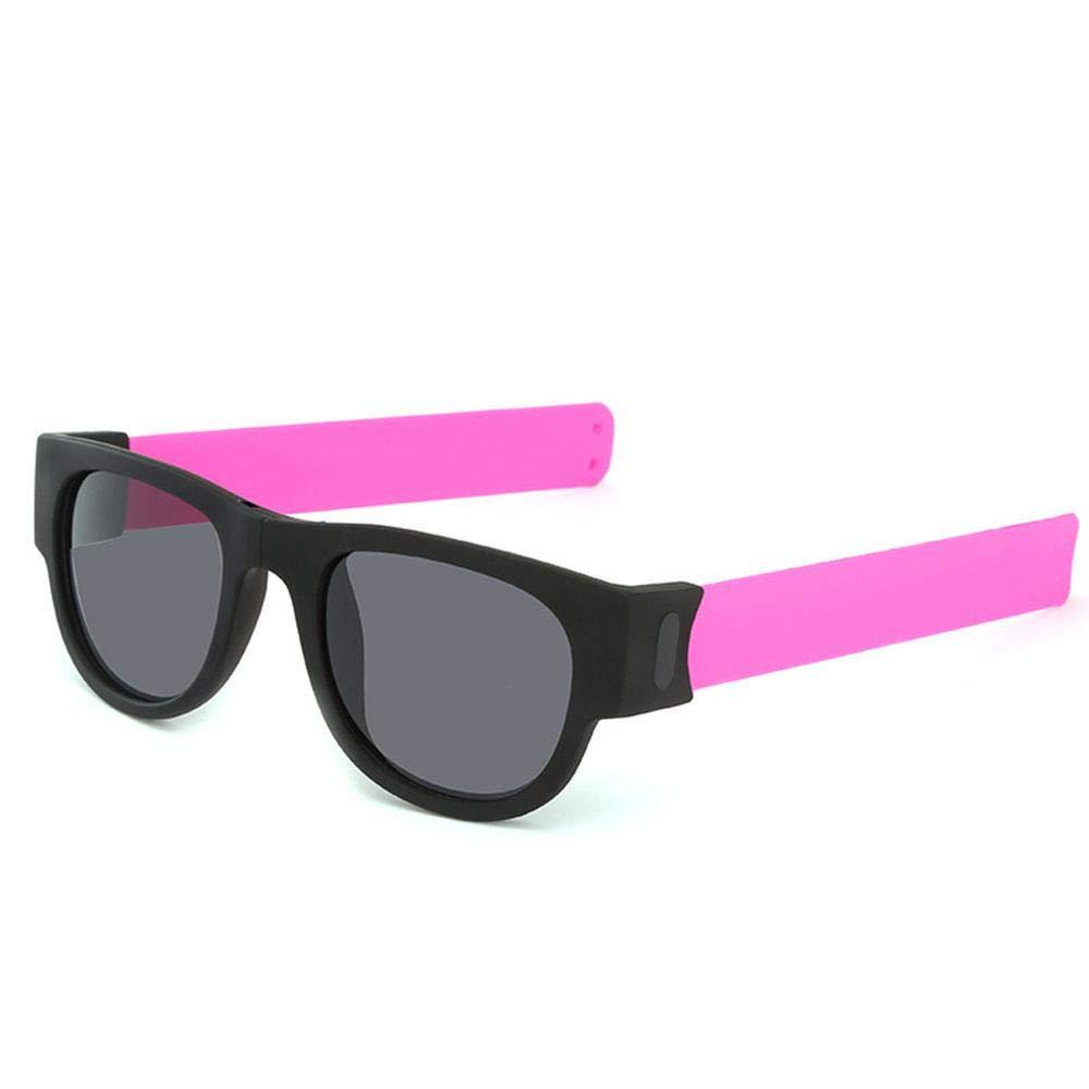 Hamkaw Mode Falten Sonnenbrillen, Multi-Fountion Armband Slappable Gläser Für Männer Und Frauen