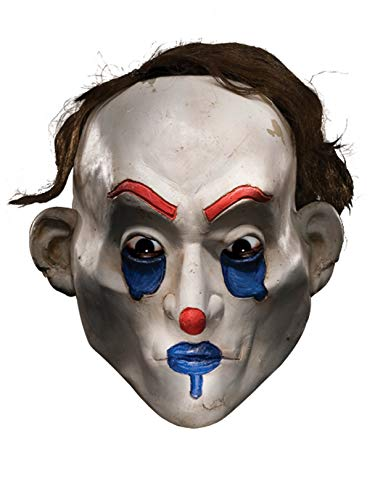 Rubie's Men's Batman The Dark Knight The Joker Henchman Happy Adult Mask, Multi, One Size -