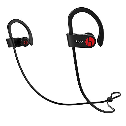 Amazon Lightning Deal 70% claimed: HIPPOX Bluetooth Headphones, Moov Sweatproof V4.1 IPX4 Wireless Sports Earbuds Headset with Mic and Noise Cancelling for iPhone Samsung and Android Phones