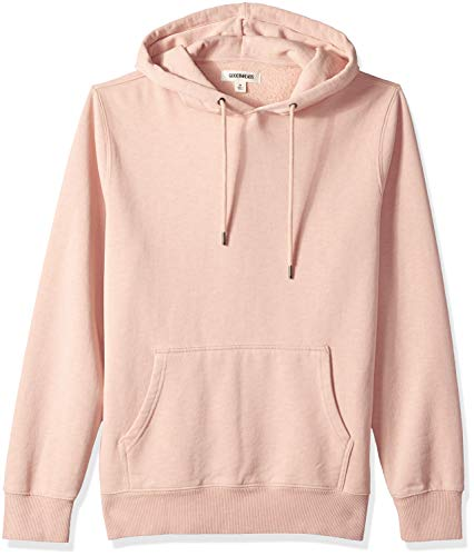 - Goodthreads Men's Pullover Fleece Hoodie, Coral, X-Small