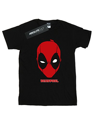 Noir shirt Deadpool Marvel Mask T Homme ZC4PCqwan