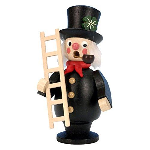 "Alexander Taron Christian Ulbricht Incense Burner Chimney Sweep 4.5""H x 2.5""W x 2""D"