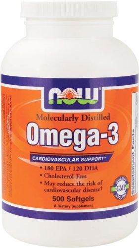 NOW Foods Omega-3, 500 Softgels