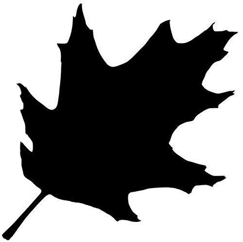 Pack of 3 Oak Leaf Stencils, 11x14, 8x10 and 5x7 Made from 4 Ply Matboard