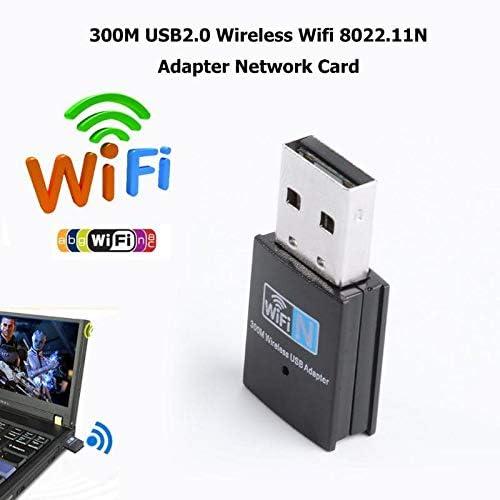 PrinceShop ALLOYSEED Mini 300M USB2.0 RTL8192 Wifi dongle WiFi adapter Wireless wifi dongle Network Card 802.11 n//g//b wi fi LAN Adapter