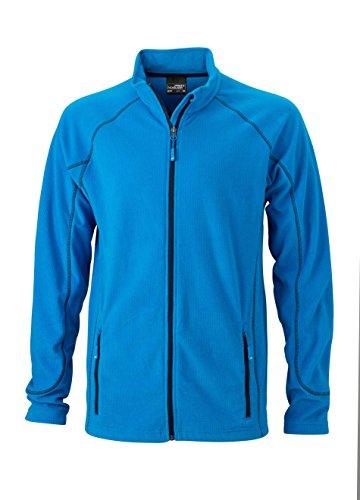 Jacket Esterno Men's Pile Structure Outdoor Aqua Leggero Fleece In navy Da Giacca ZnXwzqU11