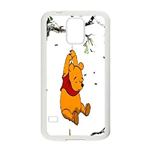 [MEIYING DIY CASE] For Samsung Galaxy S5 -Funny Winnie and Tiger-IKAI0446062