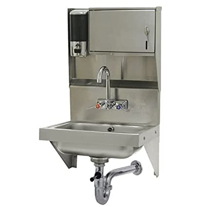 Amazon.com: 7-PS-69 Wall Mounted Hand Sink with Soap and Paper Towel on kitchen bath showrooms, kitchen colors, kitchen dining living combo, hybrid kitchen bath, kitchen remodeling, kitchen and scullery, kitchen rustic wood tables, kitchen ideas, kitchen and nook, kitchen and den, kitchen and bar, kitchen and pool, kitchen design, kitchen cabinets, kitchen layouts, kitchen and patio door, kitchen decor, kitchen bathroom, kitchen and stairs, kitchen beautiful rooms,