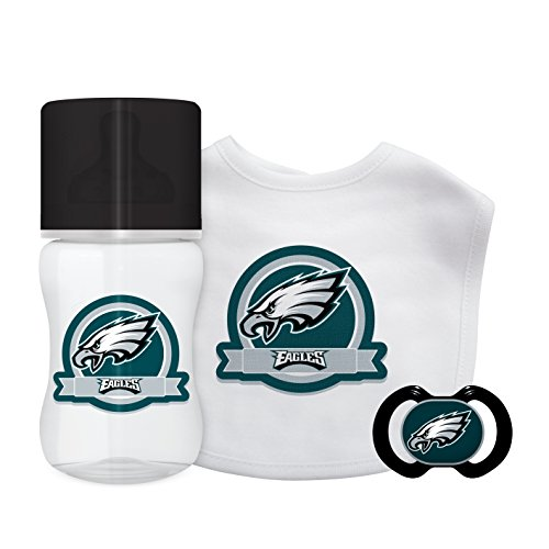 Baby Fanatic NFL Philadelphia Eagles Unisex PHE3033-Piece Gift Set - Philadelphia Eagles, See Description, See Description