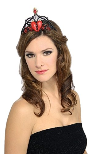 Queen Of Broken Hearts Tiara Costume Accessories For Ladies 10cm 7487