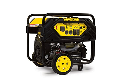 Cheap Champion 12,000-Watt Portable Generator with Electric Start and Lift Hook