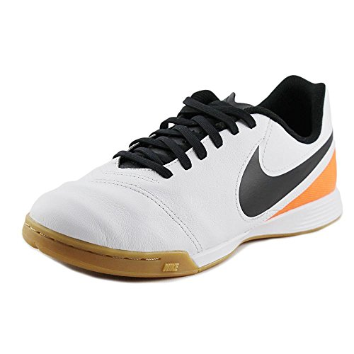 Blanco Tiempox Black Jr Nike da Unisex Bianco total VI Calcio Legend IC White Orange Scarpe bambini q15pPO