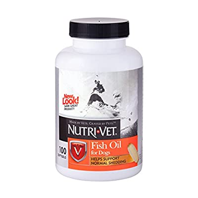 Nutri-Vet Fish Oil Softgels, 100 Count by Nutri-Vet