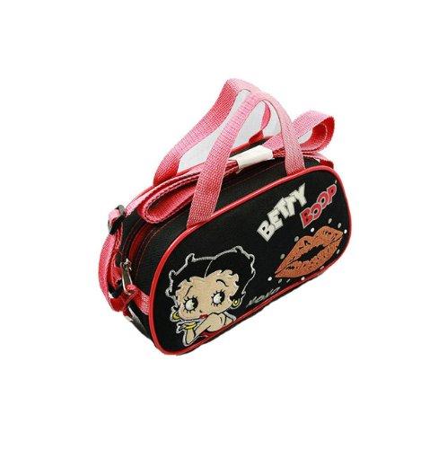 Betty Boop Tribal Pochette Handbag Cosmetic Vanity Bag School Travel Pb