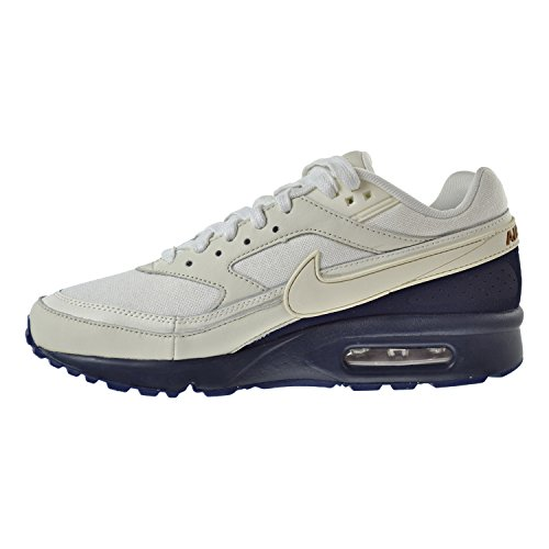 Nike Air Max Bw Premium Heren Schoenen Sail / Sail / Midnight Navy 819523-104