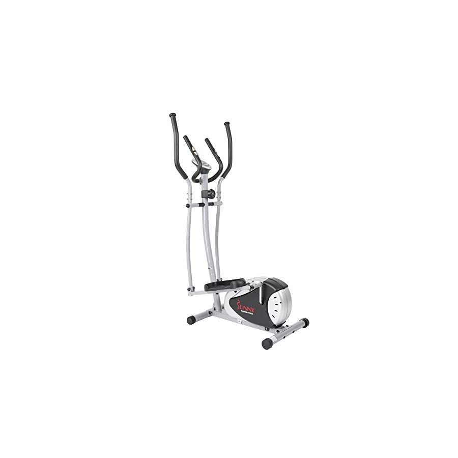 Magnetic Elliptical Machine Trainer by Sunny Health & Fitness SF E905