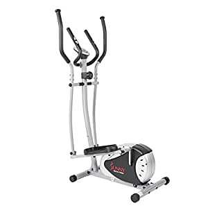 Elliptical Trainer with Hand Pulse Monitoring System by Sunny Health & Fitness - SF-E905