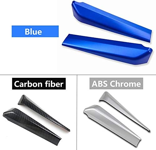 For Toyota C-HR CHR C HR 2016 2017 2018 2019 Car Front Door Window Inner Triangle A Colum Cover Trim Interior Moulding Accessory car interior Color Name : Blue