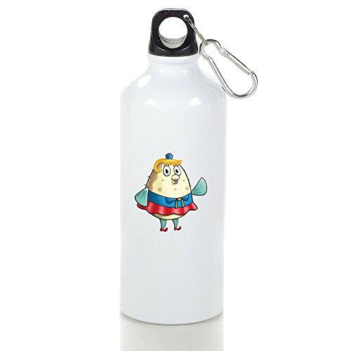Mrs. Poppy Puff Cool Aluminum Sports Water Bottle - 400/500/600ML 500ml Birthday Sigg Water Bottle