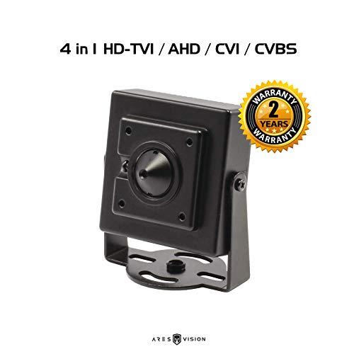 Ares Vision 5MP 4 in 1 TVI/CVI/AHD/CVBS Hidden Covert PINHOLE CCTV Camera (BNC)