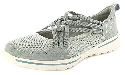 Neu Damen/Damen Grau Earth Spirit Laredo Leichte Schuhe/Turnschuhe Grau - UK GRÖßEN 3-9