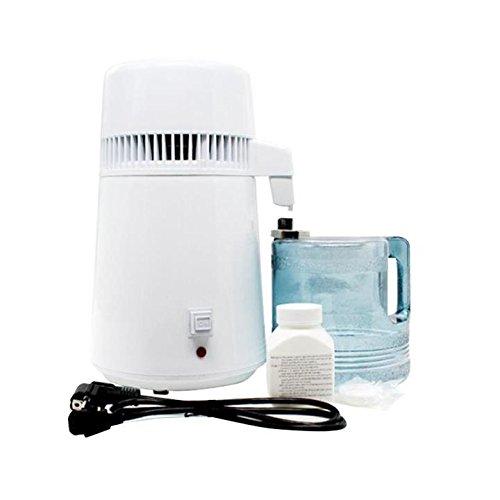 DIY 4 Litro 1 Gallon Elettrico Acqua Distillatore 304 Acciaio Inossidabile Vino Alcool Purificatori D'acqua Termometro Medical Lab Prezzi