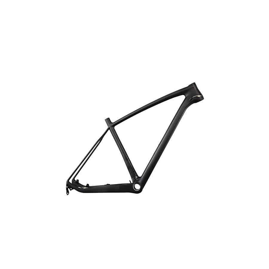 ICAN 27.5er Mountain Bike Frame Carbon Fiber Superlight BB92 21 Inch