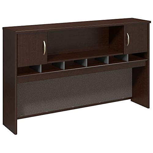 Bush Business Furniture Series C 72W 2 Door Hutch in Mocha Cherry 2 Door Mocha Cherry