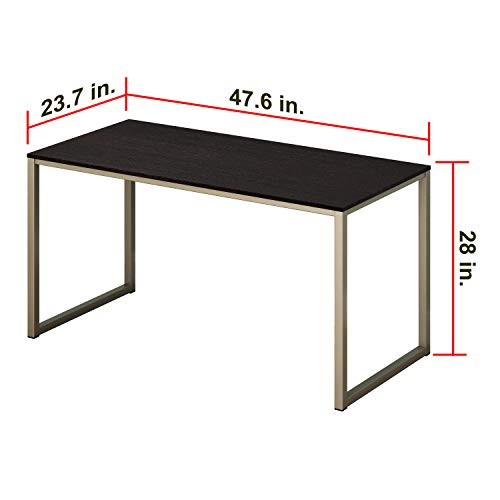 Deal SHW Home Office 48-Inch Computer Desk, Silver