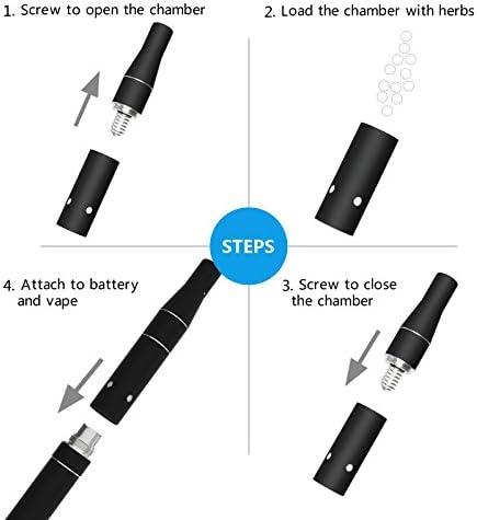 ROCVAPE HERBX Dry Herb Vaporizer Pen Portable Herbal Vaporizador ...
