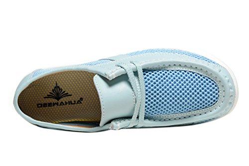 Sandales Pour Habillées Bleu En Studio Lycra Sk Femme Xaw5R6