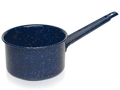 IMUSA USA C20666-1017710 Enamel Sauce Pan, 2-Quart, Blue